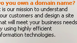 Do you own a domain name?